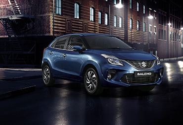 new Baleno car